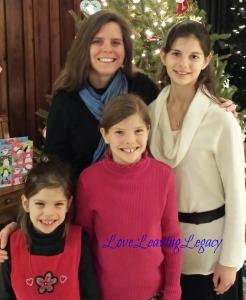 Mama and her three girls