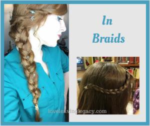 In braids