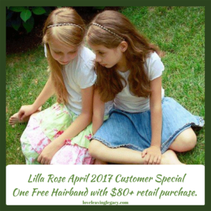 April Customer Special